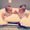 twin z pillow baby bonding time