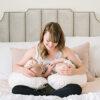 twin z pillow nursing mom 2