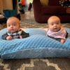 twin z pillow tummy time
