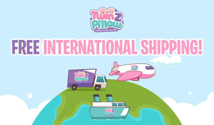 international shipping banner